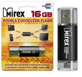 USB/microUSB Mirex  SMART SILVER 8GB