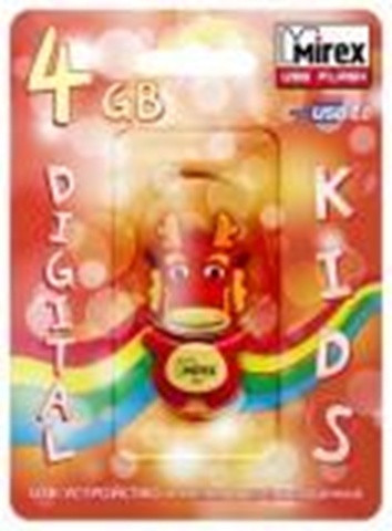USB Mirex kids DRAGON  4GB