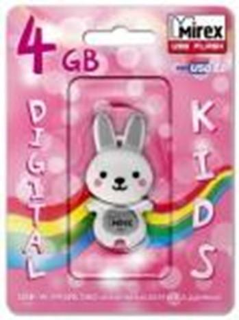 USBMirex kids RABBIT GREY 4GB
