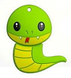 USB Mirex kids SNAKE GREEN  8GB, фото 2