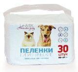 Le Artis впитывающие пеленки на основе целлюлозы для животных 60х60см 30шт, фото 1
