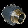 Муфта разборная с металлической наружной резьбой ПВХ  PN 16