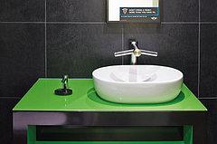 Высокоскоростная сушилка для рук Dyson AirBlade tap AB09 Short, фото 3