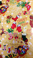 "Новогодняя бумага для упаковки подарков ""Happy New Year"", фото 1"