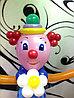 Клоун из шаров на детский праздник