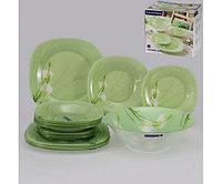 Столовый сервиз Luminarc SOFIANE GREEN 19 предметов на 6 персон, фото 1