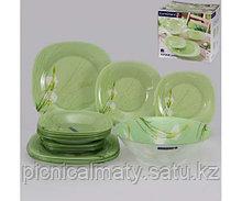 Столовый сервиз Luminarc SOFIANE GREEN 19 предметов на 6 персон