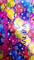 """Новогодняя бумага для упаковки подарков """"Новогодние шары"""", фото 1"""