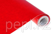 Бумага самоклеющаяся, красная