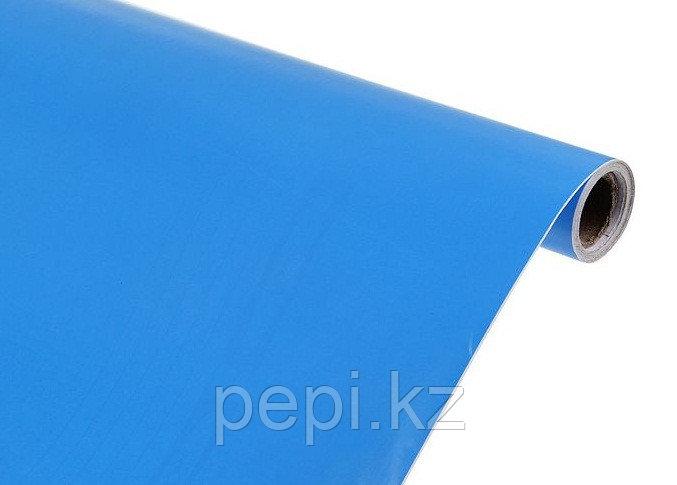 Бумага самоклеющаяся, синяя
