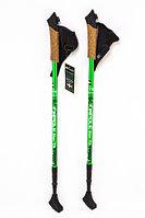 Палки для скандинавской ходьбы Finpole STAR T3 (черно-зеленый, Финляндия)
