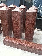 Столб гранитный со срезом в виде конверта