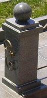 Столб гранитный сборный с шаром