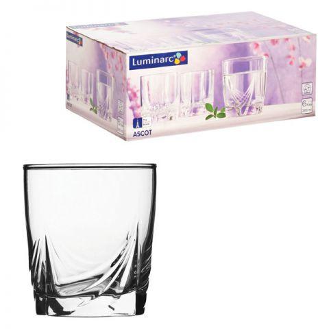 Набор стаканов низкие Luminarc АСКОТ, 6 шт - 300 мл