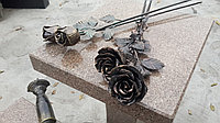 Цветы кованные мемориальные, фото 1