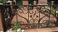Оградка ритуальная кованная, фото 1
