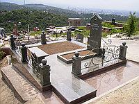 Оградка ритуальная металлическая гнутая, фото 1