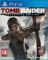 Tomb Raider Defintive Edition (на русском языке) игра на PS4, фото 1