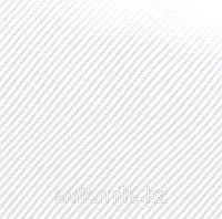 Карбоновая 3D,3Д пленка  Белая ширина 1.27м