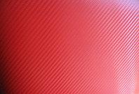 Карбоновая 3D,3Д пленка  Красная ширина 1.27м