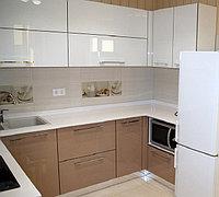 Современная глянцевая кухня, фото 1