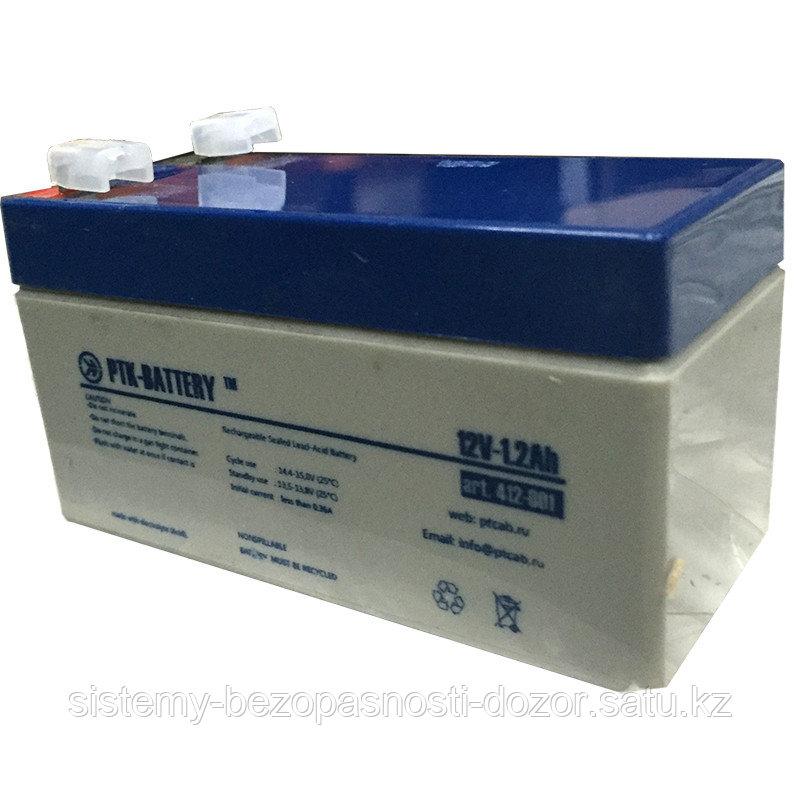 Аккумуляторная батарея 12В 1,2 А/ч Рубеж PTK BATTER