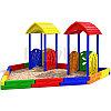 Песочный дворик-4 Детская песочница для коттеджей