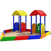 Песочный дворик-4 Детская песочница для коттеджей, фото 1