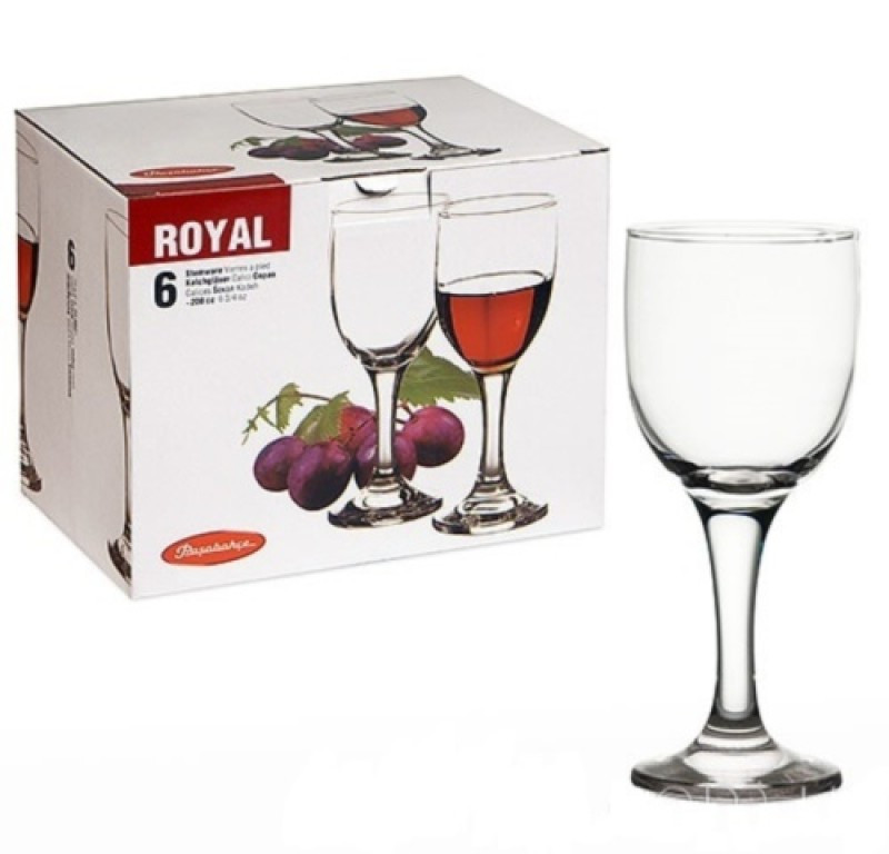 Набор бокалов  Pasabahce Royal для вина 6 шт. 44352