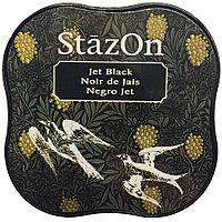 Чернильная подушечка. Цвет: Черный. Stazon