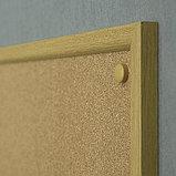 Доска пробковая в раме MDF 45х60 см 2x3 (Польша), фото 3
