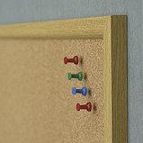 Доска пробковая в раме MDF 45х60 см 2x3 (Польша), фото 4