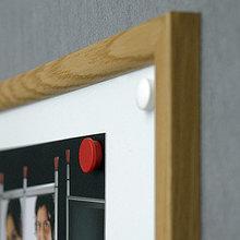 Доска маркерная магнитная в раме MDF 45*60см 2x3 (Польша)