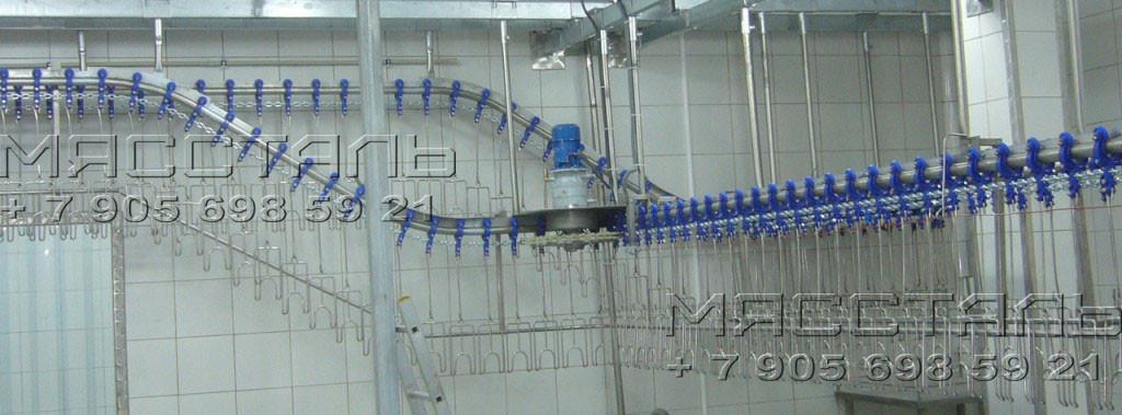 Подвесной цепной конвейер