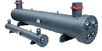 Теплообменник для охлаждения жидкости кожухотрубный. Испаритель WTK SCE 23 (Италия)