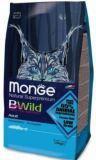 Monge Bwild Cat Cat Anchovies Суперпремиум Сухой корм с анчоусами для взрослых кошек всех пород, 1,5кг, фото 1