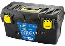 "Пластиковый ящик для инструмента, 530х275х290 мм (21"") СИБРТЕХ 90806 (002)"