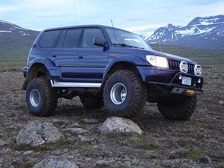 Усиленная подвеска Toyota Land Cruiser Prado 90 (95)