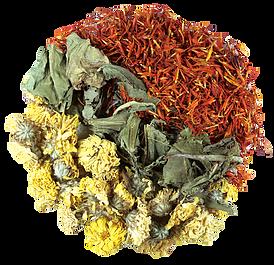 Чай восстанавливающий - 3 Flowers Mingling Tea, фото 2
