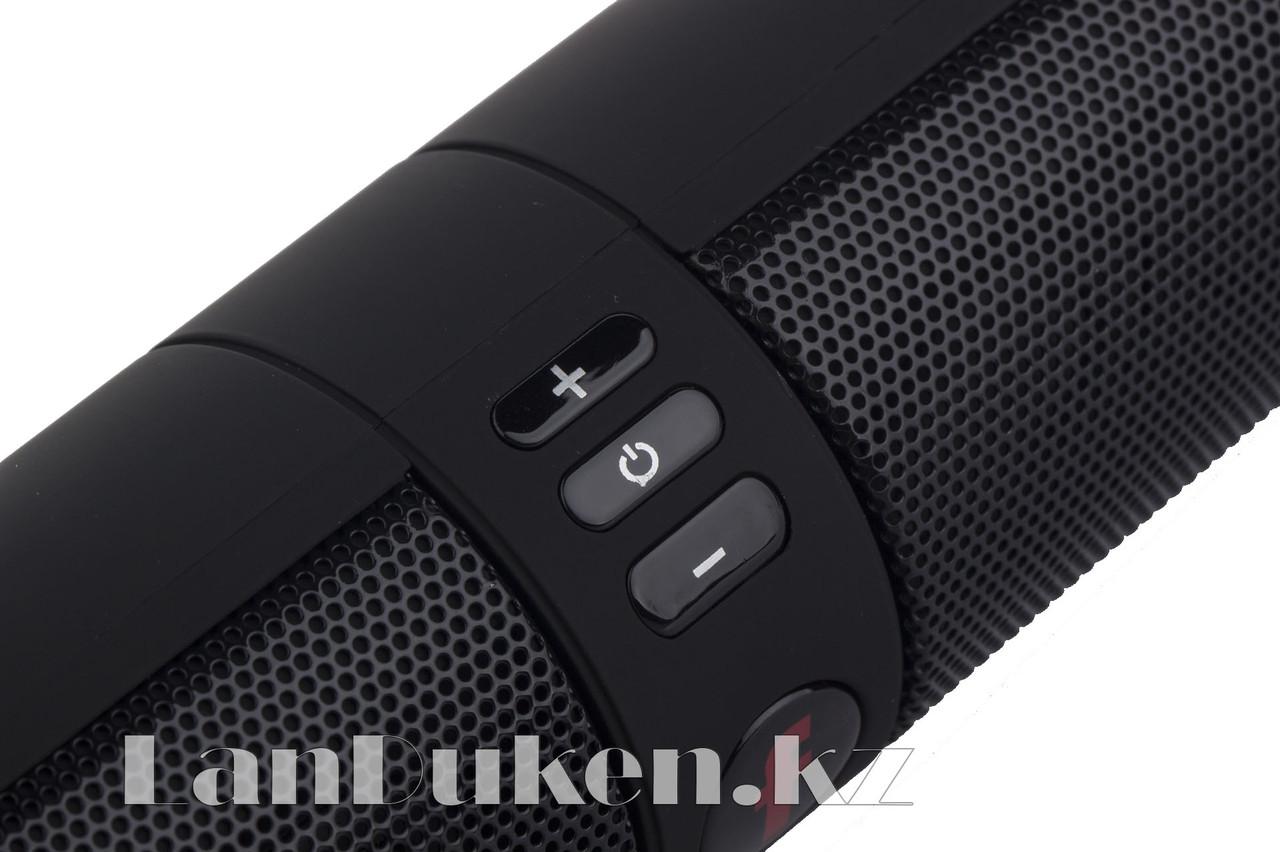 Колонка беспроводная стерео bluetooth-спикер для смартфонов и портативных пк (черная) - фото 3