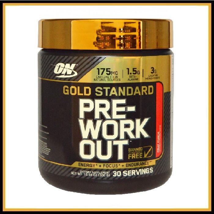 Optimum Nutrition,Gold Standard Pre-Workout 330гр (арбуз)