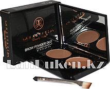 Матовые тени мини для век и бровей Anastasia Beverly Hills Brow Powder Duo (02)