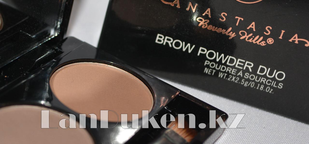 Матовые тени мини для век и бровей Anastasia Beverly Hills Brow Powder Duo (03) - фото 3