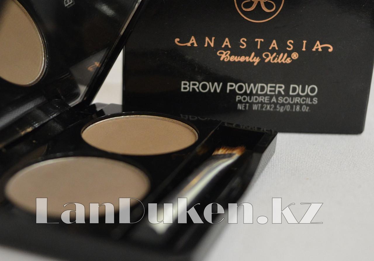 Матовые тени мини для век и бровей Anastasia Beverly Hills Brow Powder Duo (03) - фото 6