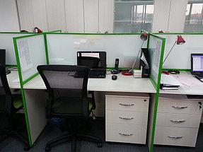 Мобильные перегородки, офис компании London Almaty 2