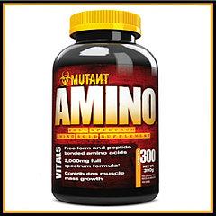 Mutant Amino, 300 tab