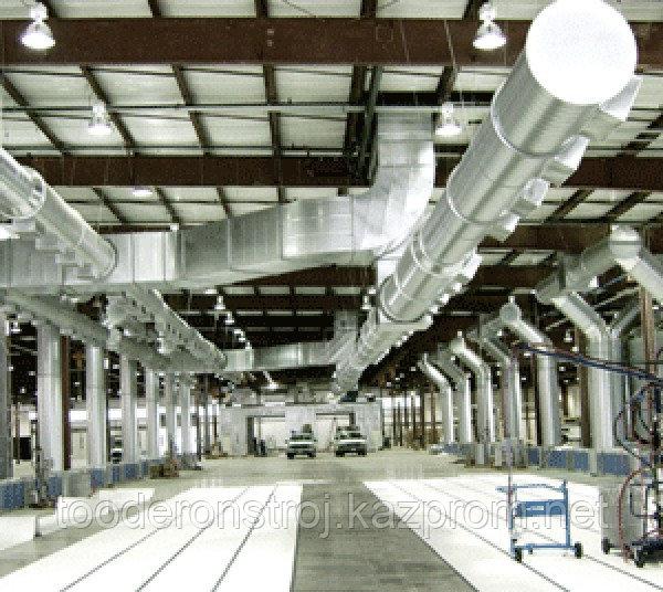Вентиляция (приток и вытяжка) производственных цехов