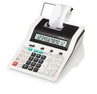 Калькулятор с печатью 12 разрядов, лента 57мм, печать 2 цвета, белый Citizen