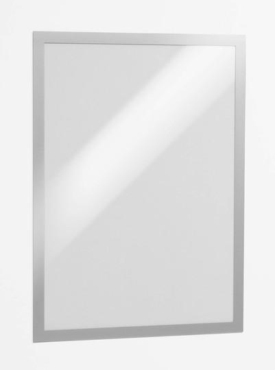 Рамка магнитная, А3, самоклеющаяся, серебристая Durable
