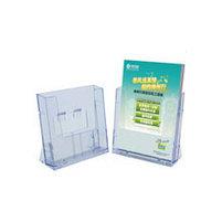Подставка для буклетов, А4V, 1T, прозрачная Kejea, фото 3